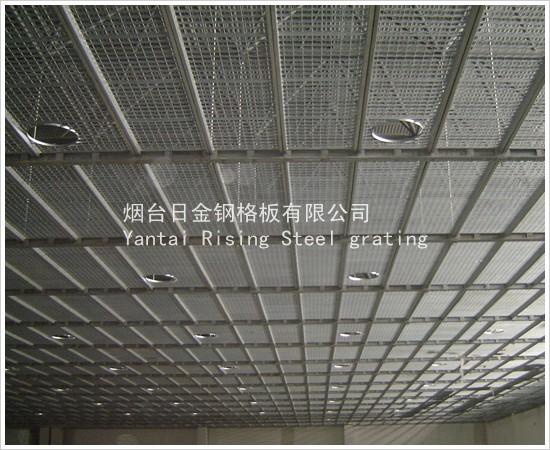 木方吊顶框架结构图